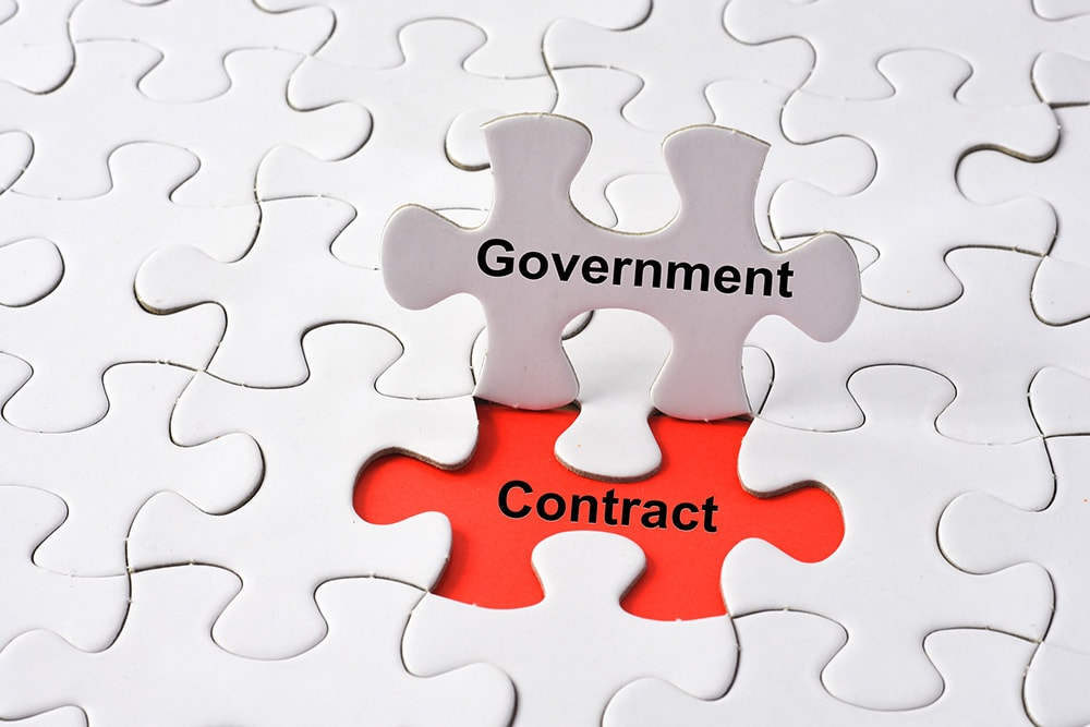 bid on government contracts